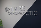 Thumbnail of Optimize Chiropractic 's lobby sign
