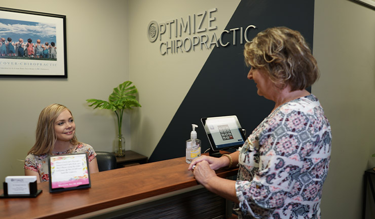 Photo of Optimize Chiropractic 's lobby