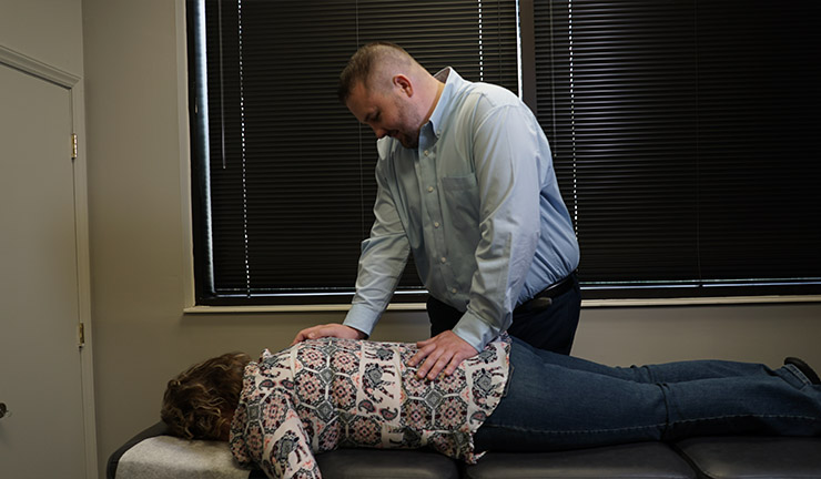 Photo of Optimize Chiropractic 's treatment room