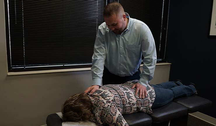 Photo of Optimize Chiropractic 's treatment room 2